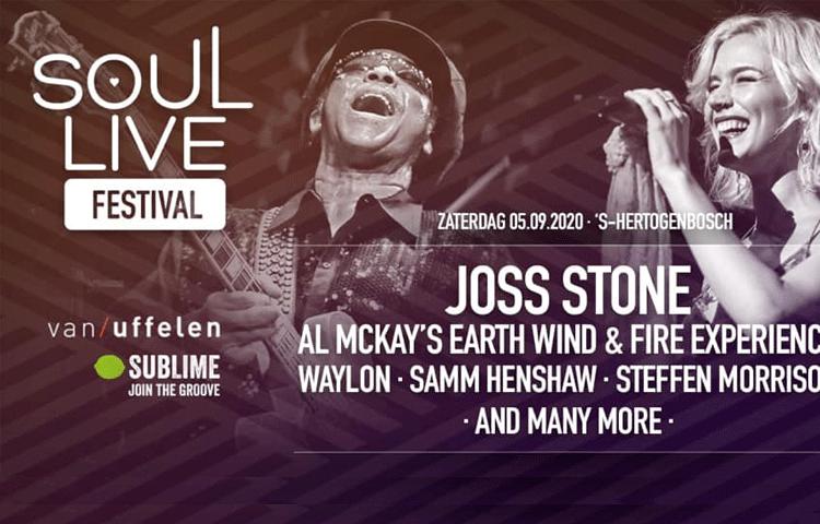 Soul Live event aankondiging